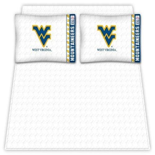 NCAA West Virginia Mountaineers Micro Fiber Sheet Set (Queen)