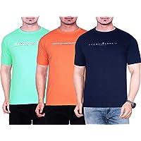 Blico Men's Round Neck Cotton T-Shirt...