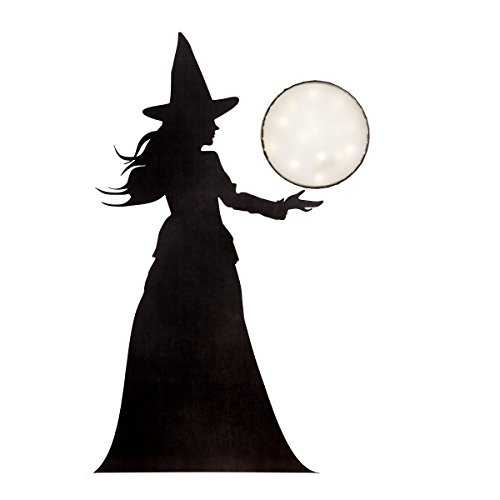 Martha Stewart Vinyl Witch Window Décor -