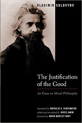 the justification of the good an essay on moral philosophy  the justification of the good an essay on moral philosophy vladimir solovyov boris jakim nathalie a duddington 9780802828637 com books