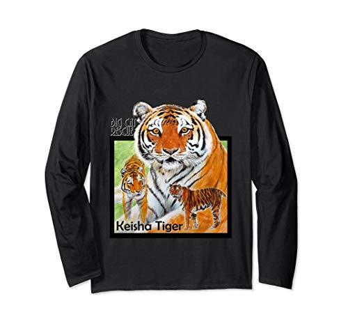 T-shirt Spirit Fighting (Fighting Spirit Keisha Tiger Long Sleeve Tee Shirt)