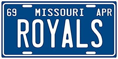 Kansas City Royals Baseball Inaugural 1969 Season Missouri License Plate