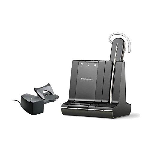 (Plantronics Savi W740 Mono Wireless Headset (Renewed) (Headset With Lifter))