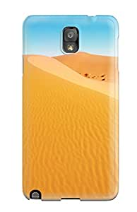 Hot For Galaxy Protective Case, High Quality For Galaxy Note 3 African Desert Skin Case Cover