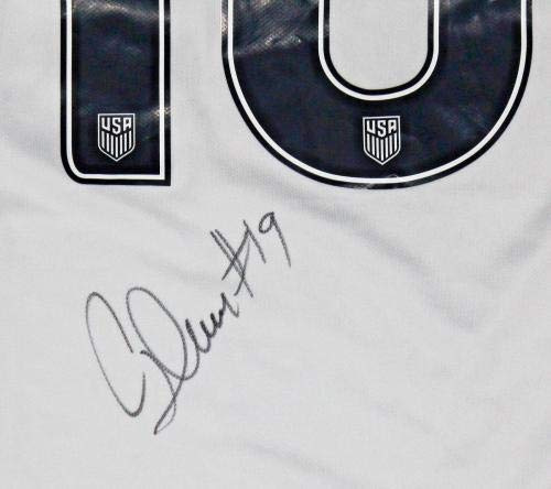 9b989c7de26 Crystal Dunn Signed USA Soccer Jersey w COA World Cup NC Courage - Autographed  Soccer Jerseys at Amazon s Sports Collectibles Store
