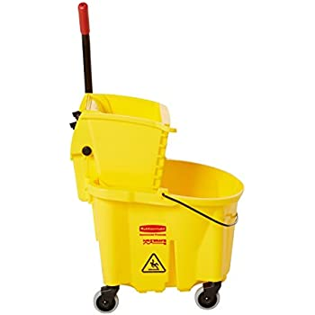 Amazon Com Winco Mpb 36 Mop Bucket With Wringer 36 Quart