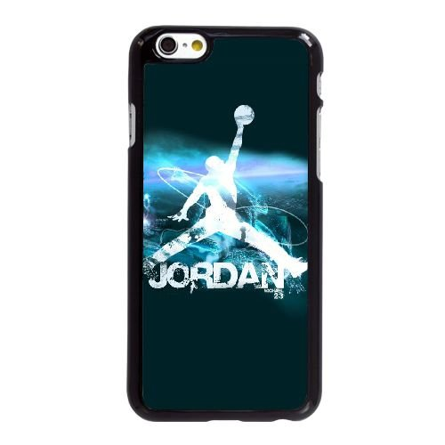 L0C88 Michael Jordan Logo U8S7XW coque iPhone 6 Plus de 5,5 pouces cas de couverture de téléphone portable coque noire SG5DXF7BK