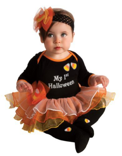 Rubie's My First Halloween Tutu And Onesie, Black, (Shopping For Halloween Costumes)