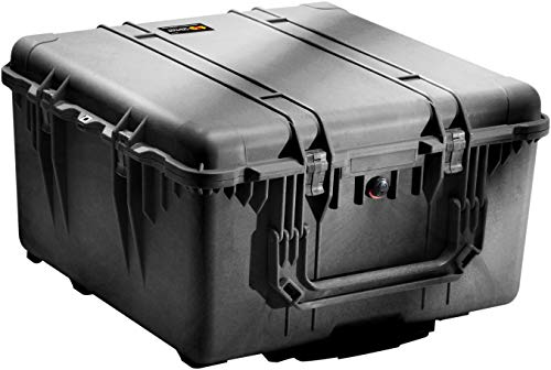 Pelican 1640 Camera Case With Foam (Black)