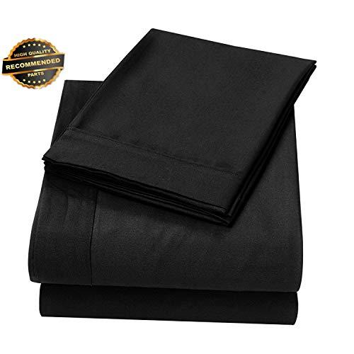 (Gatton Premium New 4 Piece Soft Sheet Comfort Deep Pocket Bed Sheet Set Twin Full Queen King Light | Collection SHEESRONG-200114423)