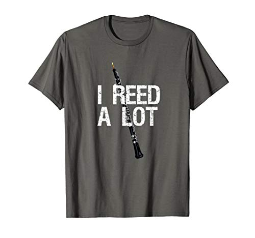 Conductor Oboe - I Reed A Lot Funny Oboe Player T-Shirt Gift For Oboist