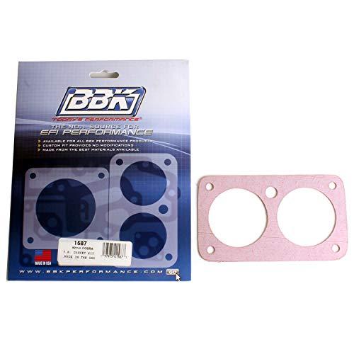 - BBK 1587 Twin 62mm Throttle Body Gasket Kit for Ford Mustang Cobra