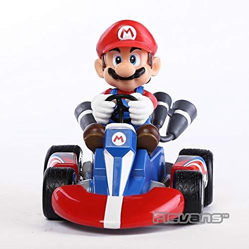 Two Bros Racing - VIETCJ Sup3R Marie Bros Kart Car Ma Kart Racing Car PVC Toys 4
