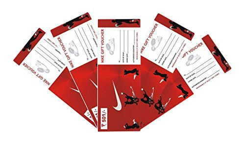 Nike Gift Voucher -Rs. 500, Pack of 5,000: Amazon.in: Gift Cards