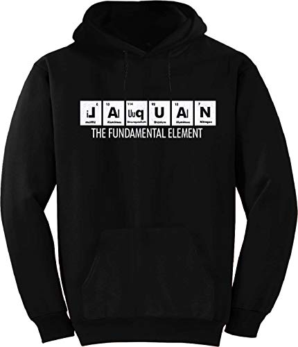 Jaquan Table - Jaquan The Fundamental Element Periodic Table Hoodie Black