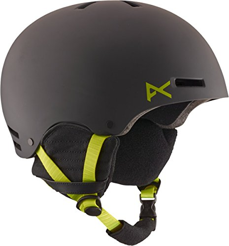 Anon Men's Raider Helmet, Black/Green, X-Large