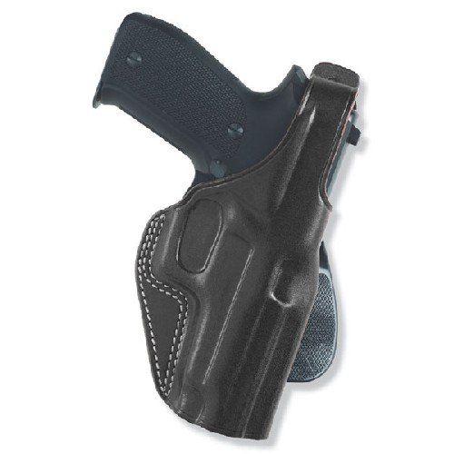 Galco PLE212B Unlined Paddle Gun Holster for Colt 1911, Right, Black ()