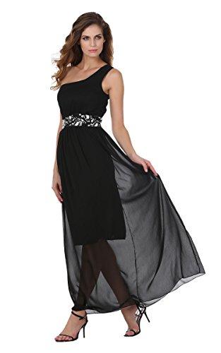 ZEARO Elegante Pailletten Abendkleider Damen Partykleider Lang Eine ...