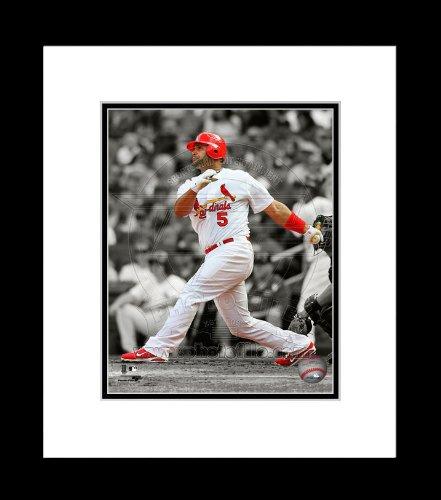 St. Louis Cardinals Albert Pujols Spotlight Framed 8x10 Picture