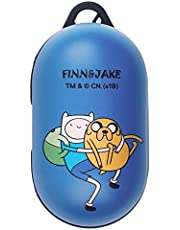 Adventure Time Galaxy Buds Case Protective Hard PC Shell Cover Compatible with Galaxy Buds & Galaxy Buds Plus (Buds+) - Lovely Finn and Jake