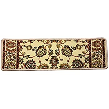 Dean Premium Carpet Stair Tread Rugs Elegant Keshan