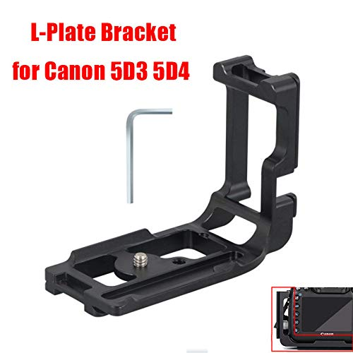 L Type 5D3 5D4 Professional Tripod Special Quick Release Plate Bracket Tripod&Ball Head for Canon 5D Mark IV/III Mark4/3 Camera