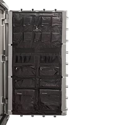 Liberty Door Panel - Fits Gun Safe Models 48-64 - Accessory and Organizer for Pistols, Handguns, Ammunition, Magazines, Choke Tubes and Other Security Products - Item 10587 - Black