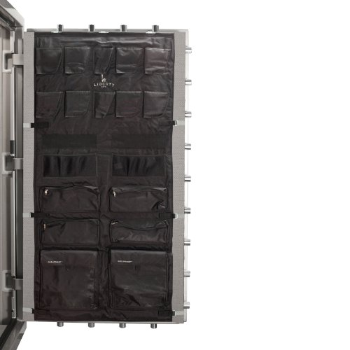 Liberty Door Panel - Fits Gun Safe Model 50 - Accessory and Organizer for Pistols, Handguns, Ammunition, Magazines, Choke Tubes and Other Security Products - Item 10588 - Black