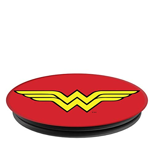 PopSockets: Collapsible Grip & Stand for Phones and Tablets - Wonder Woman Icon