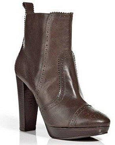 Marron couleur Apart cuir Marron marron d'équitation bottines lisse en qqgnP10w