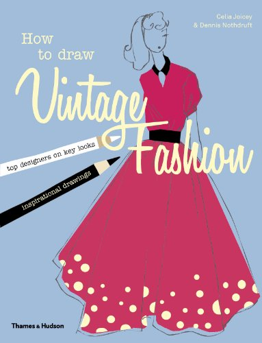 Image of How to draw vintage fashion