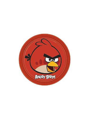 Angry Birds Large Paper Plates (Angry Birds Plates)