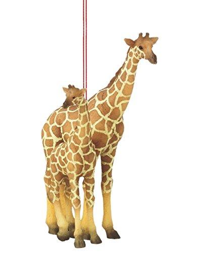 Giraffe with Calf Ornament Christmas Giraffe Ornament