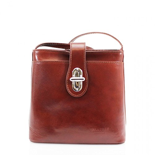YourDezire - Bolso de tela para mujer marrón