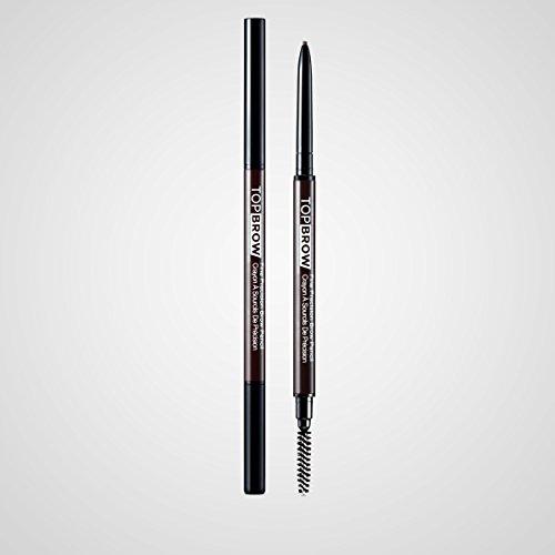 (Kiss Ny Pro Top Brow Fine Precision Pencil Deep Dk Brown)