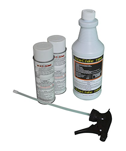 Mold Remediation Pro Clean Bundle with 2 Cans of Mold Bomb Fogger