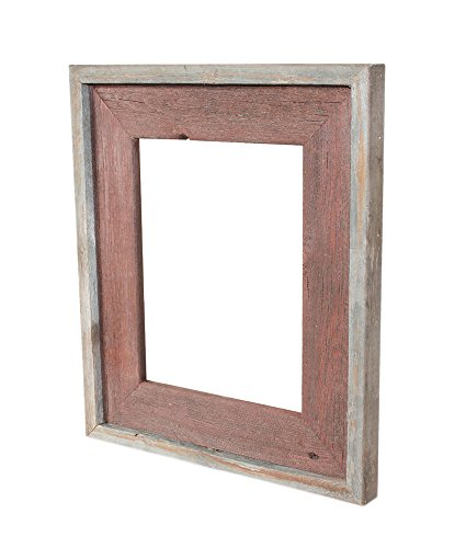 Recherche Furnishings Natural Reclaimed Frame, 5 by 7-Inch, Rosewood, Country Rustic (7 Inch Rosewood Picture Frame)