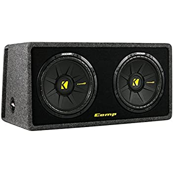 Amazon kicker 40dcws122 12 inch 1200w dual loaded subwoofer kicker 40dcws122 12 inch 1200w dual loaded subwoofer enclosure sciox Image collections