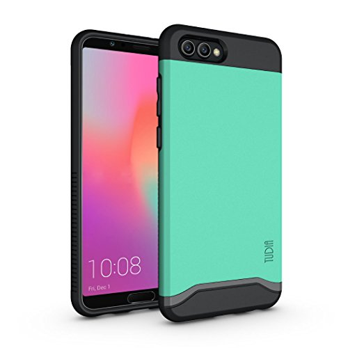 Honor View 10 / Honor V10 Case, TUDIA Slim-Fit Heavy Duty [Merge] Extreme Protection/Rugged but Slim Dual Layer Case for Huawei Honor View 10 / Honor V10 (Mint)