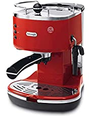 De'Longhi Icona ECO311.R Pump Espresso Coffee Machine  (Red)
