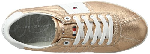 Tommy Hilfiger Damen L1285izzie Sneakers 1d1 Oro (oro Rosa 703)