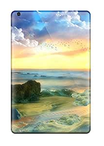 Series Skin Case Cover For Ipad Mini/mini 2(planets Reflecting In The Sea )