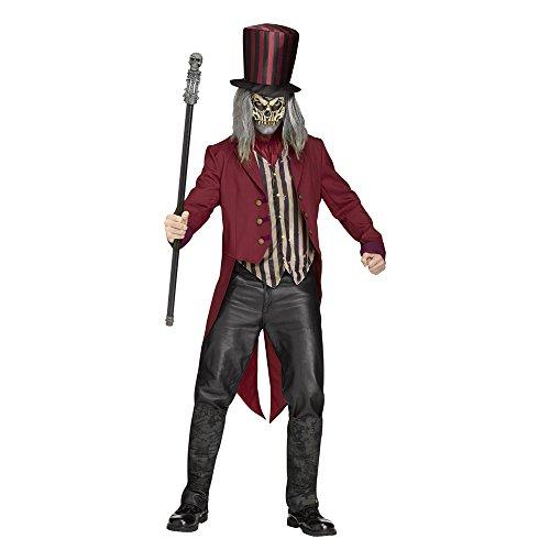 Ringmaster Costume Plus Size (Freak Show Ringmaster Costume - Standard - Chest Size 33-45)