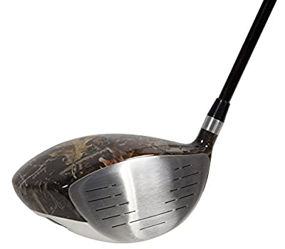 Pinemeadow Golf Men's Command W7X Camo Driver, Right Hand, Graphite, 10-Degree, Regular