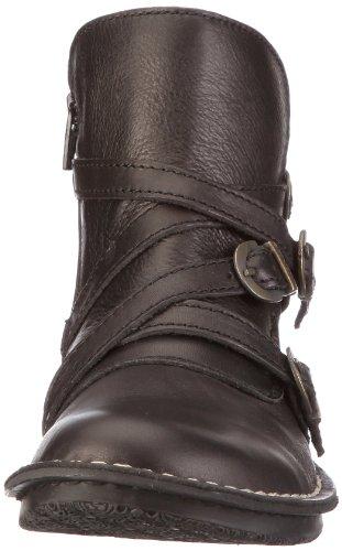 Femme 38 Eu Bottines Noir Wraps Chaussures Kickers qwpEP7x