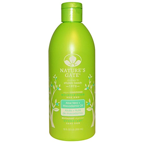 Nature's Gate, Aloe Vera + Macadomia Oil Moisturizing Conditioner, 18 fl oz (532 ml) - 2pc
