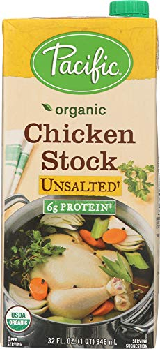 Pacific (NOT A CASE) Organic Unsalted Chicken Stock