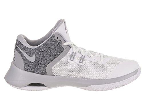 Nike Herren Lucht Versitile Ii Basketballschuhe Wit / Wolf Grijs