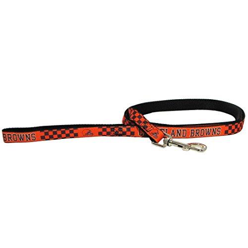 Cleveland Browns Pet Dog Premium 6ft Nylon Leash Lead Licensed LARGE