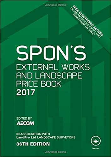 Spons external works and landscape price book 2017 spons price spons external works and landscape price book 2017 spons price books amazon aecom 9781498786157 books fandeluxe Images